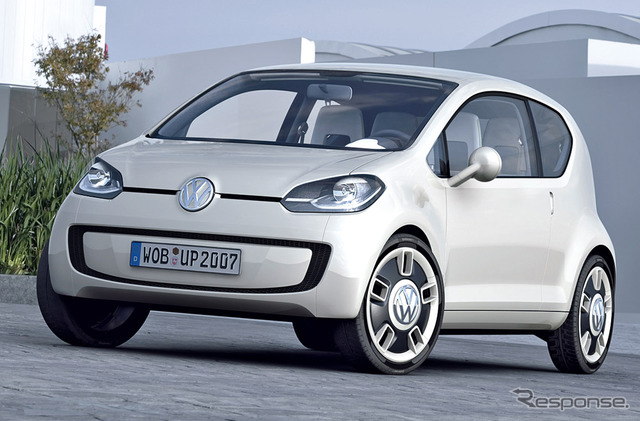 "VW's global strategy compact cars ""UP!"" Is seen decorating debut in August ( photo concept 2007 )"