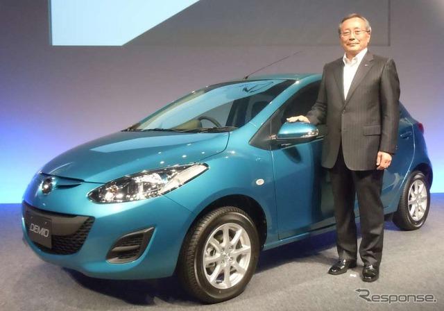 "Mazda new ""Demio"" presentation"