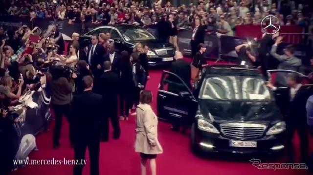 ภาพยนตร์ 'Transformers' ドイツプレミアของ Mercedes Isshiki [วิดีโอ]