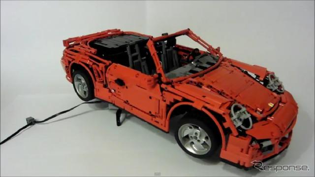 เลโก้/พอร์ช 911 ターポカブリオレ (จับภาพวิดีโอ)