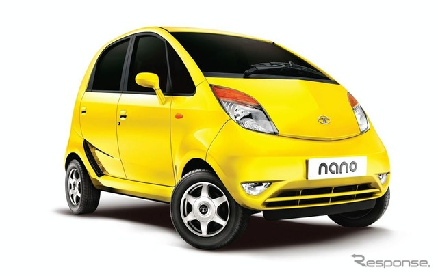 ญี่ปุ่น ¥ $ 200000 ต่ำสุดราคารถ Tata นาโน