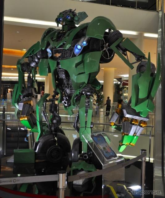 Transformers ได้มีเวลาการช้อปปิ้งมอลล์จาการ์ตา