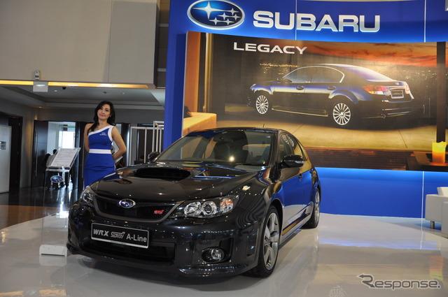 Subaru Impreza WRX STI A-Line (Jakarta motor show 11)