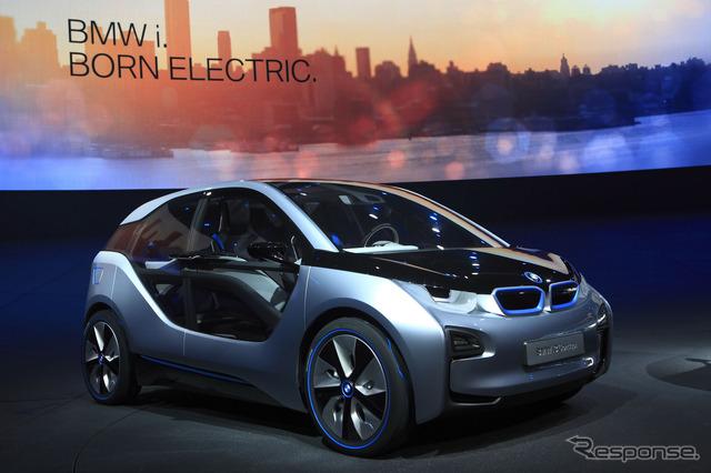 Brand new BMW i EV, i3 concept
