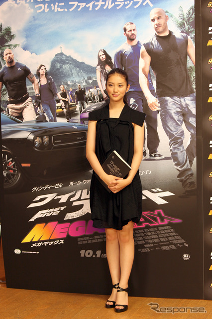 Takei Saki is movie ' wild speed MEGA MAX ' of voice actors to challenge
