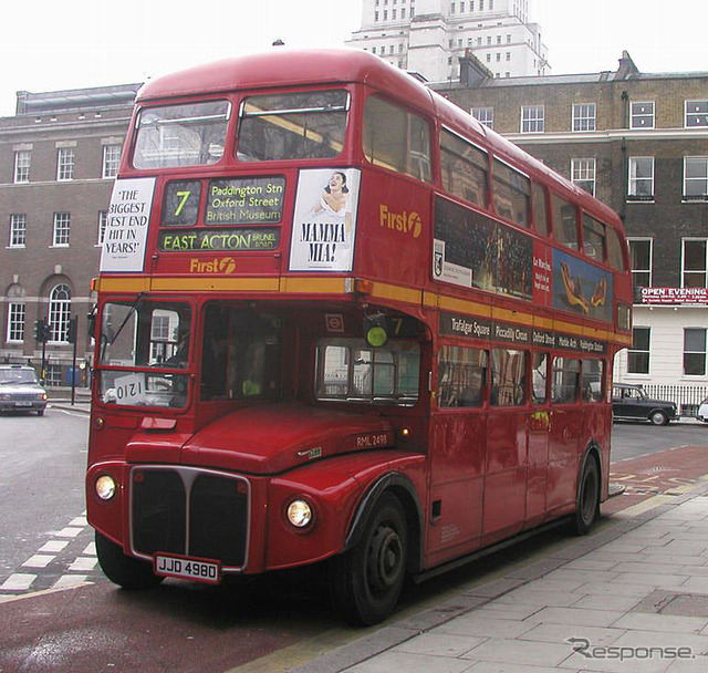 We sell a London double-decker bus 2