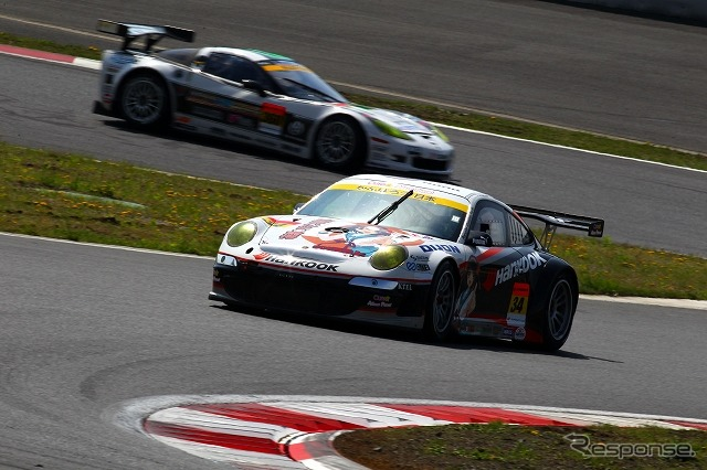 SUPER GT round 6 was held at the Fuji Speedway in 9-10,