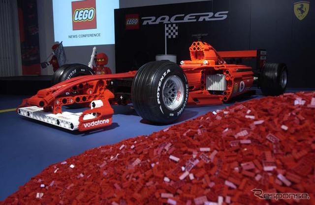 フルサイズレプリカเฟอร์ F1 ทำบล็อกของเลโก้