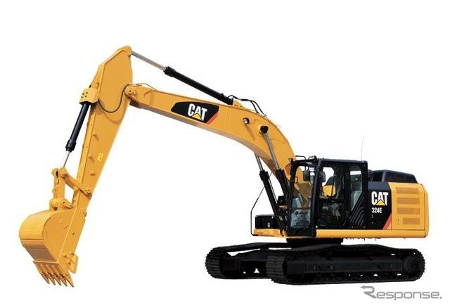 CAT 324 L ไฮดรอลิก excavator