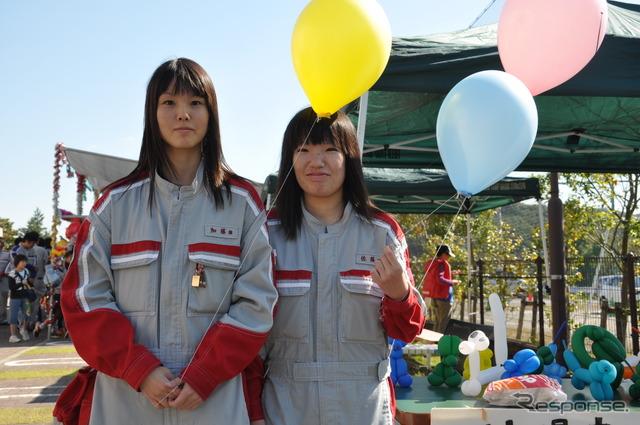 Tokyo Toyota Automobile University campus Festival mortar