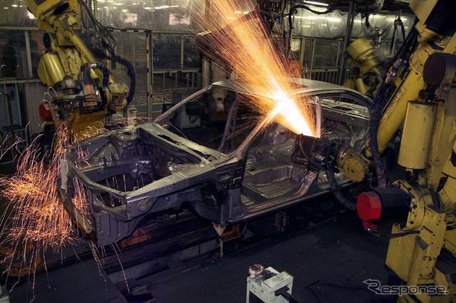 Nissan oppama plant