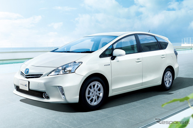Democratic Party petition submitted to the Government Tax Commission, demanded the abolition of car tax and motor vehicle weight tax, radical changes in ( example car: Toyota Prius alpha )