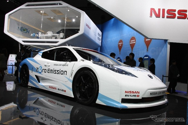 [Tokyo Motor Show 11: Nissan leaf NISMO 8 cars, RC is the FIA rules making