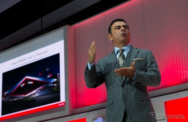 11 Tokyo Motor Show Nissan President Carlos Ghosn