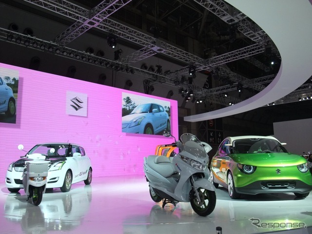 Tokyo Motor Show 2011 スズキブース