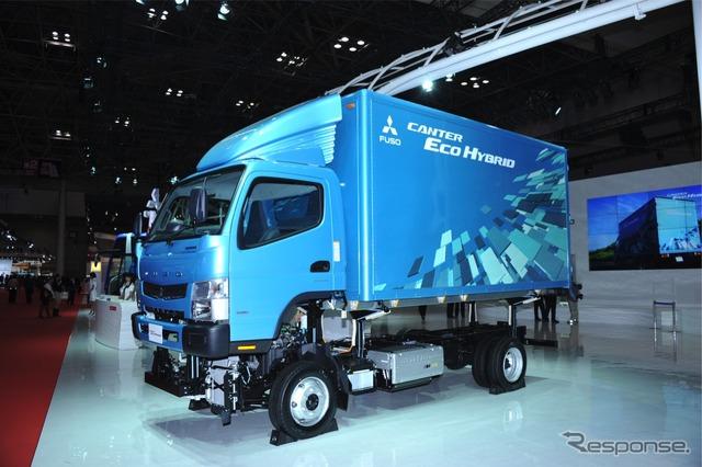Mitsubishi Fuso eco Canter hybrid (Tokyo Motor Show 11)