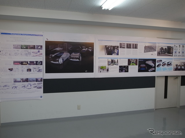 TCA art exhibition---proposal of the relationship between the automobile and the future of Tokyo