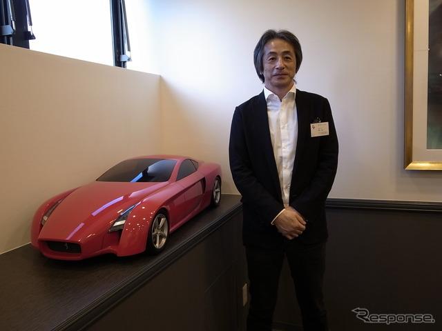 Mr. Fujimura of Tokyo Communication Arts