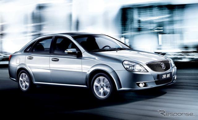 ประเทศจีน(gmt)ขายในการลบ ตาม ด้วยโดยรวม (Buick แบรนด์)