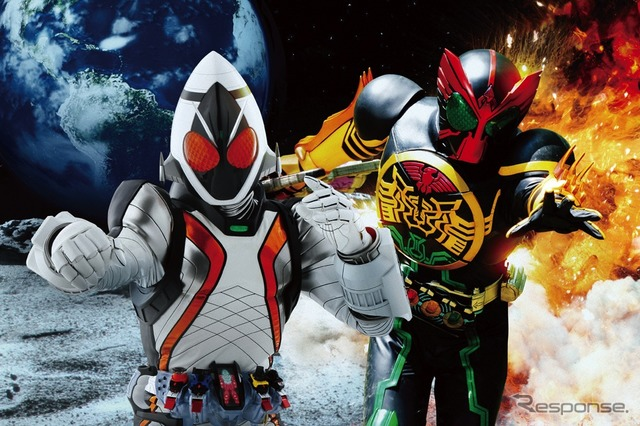 """Kamen Rider x Kamen Rider フォーゼ & ARDS MOVIE wars MEGA MAX '""フォーゼ & ARDS""production Committee (c) ishimori Pro TV Asahi ADK / Toei"