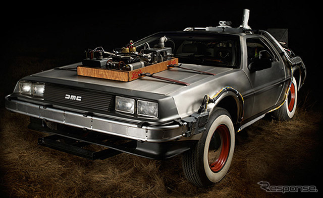 DMC-12 The DeLorean was actually used in the 'back-to-the future films'