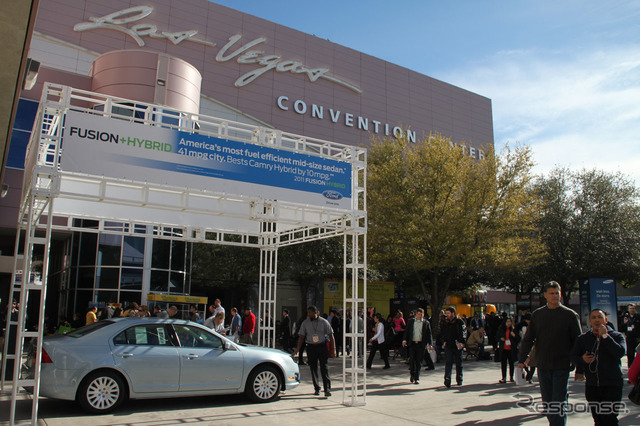 CES2011 was held in 1/2011 EV and HV exhibited numerous venues