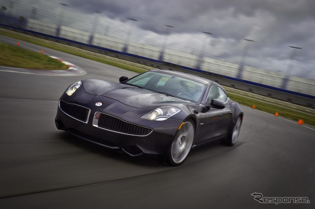 United States Fisker plug-in hybrid karma and 4-door sports car