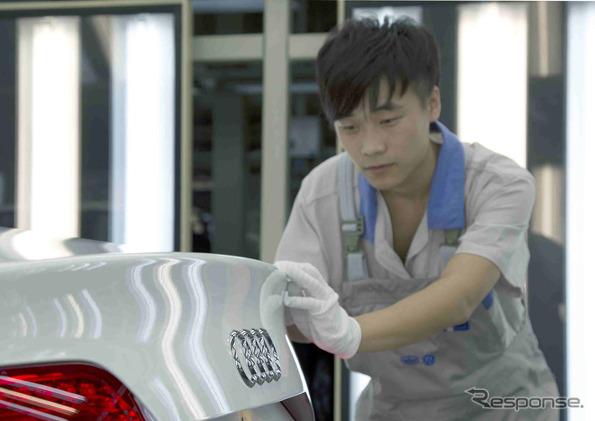 ออดี้ A4L สร้างโรงงานในจังหวัด Changchun Jilin, China