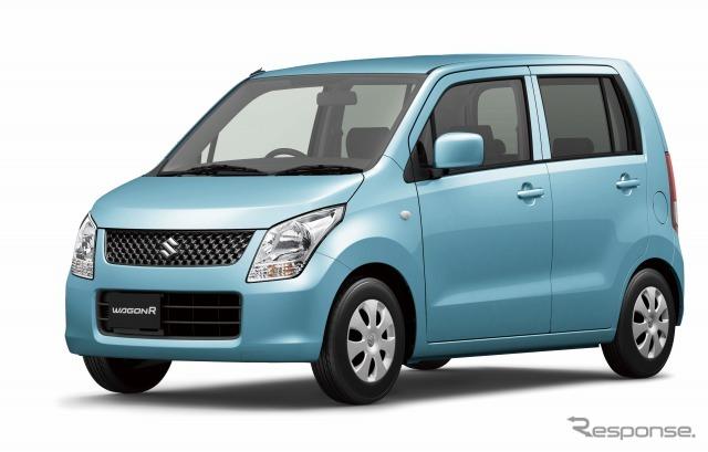 Suzuki Wagon R FX アクアベールブルーパールメタリック
