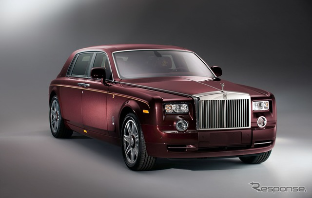 Phantom ear-of-the-Dragon-Edition Rolls-Royce to commemorate the year and for China was limited to eight