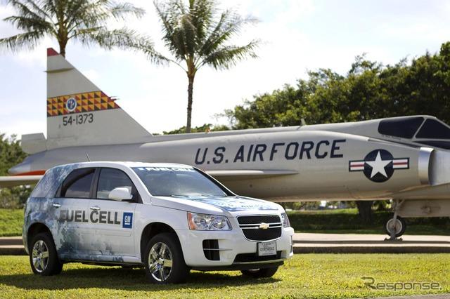 (Gmt)ถูกเปิดใช้งานผ่านไปรถเซลล์เชื้อเพลิงของทหารสหรัฐอเมริกาตามวิษุวัตเชฟโรเลต Developed