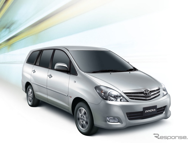 The Thailand Innova manufactured