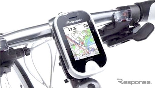 Cycle navigation SGX-CN700 ポタナビ pioneer,