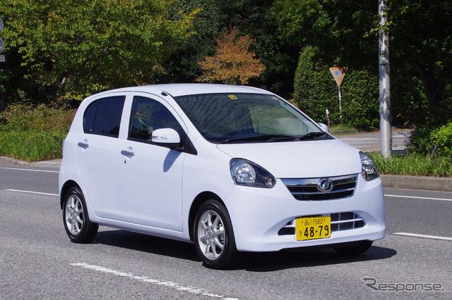 ไดฮัทสุแนะนำรถยนต์ fuel-efficient ミライース