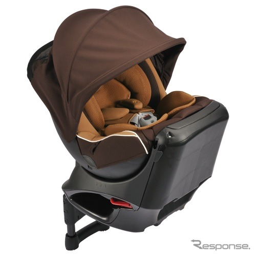 Carmen swivel car seat エールベベ Kurt NT2 proud