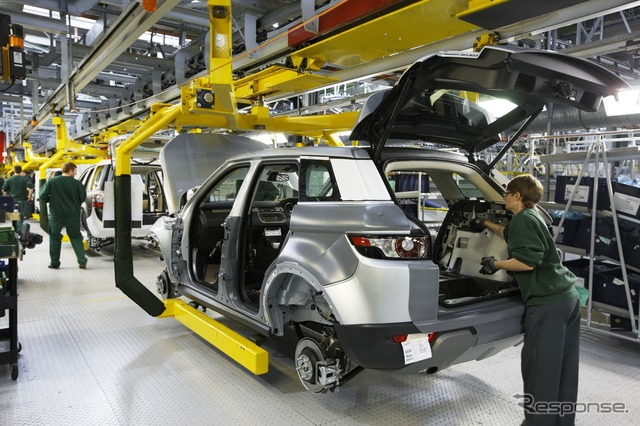 โรงงานของสหราชอาณาจักร Halewood แลนด์โรเวอร์
