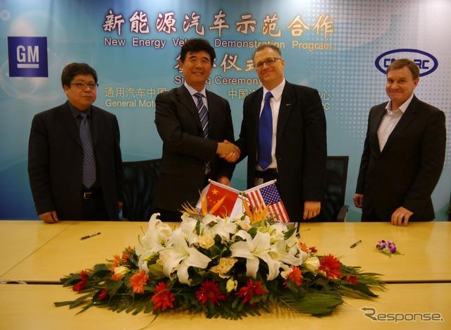 (Gmt) และตกลงทดลองของ bolted ร่วมในศูนย์วิจัยเทคโนโลยีรถยนต์จีน