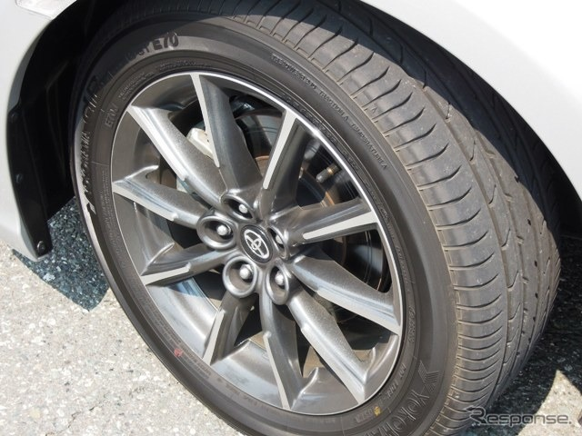 Advantages of the 16-inch wheels, ride comfort.