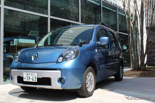 Renault カングーイマージュ released
