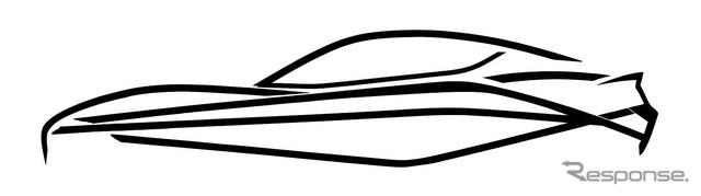 Cars Fisker teaser sketch