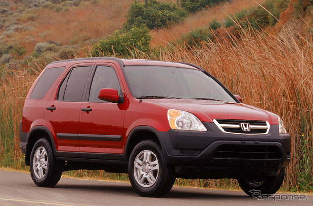 The second-generation Honda CR-V