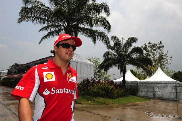 Massa (Ferrari, F1 GP of Malaysia)