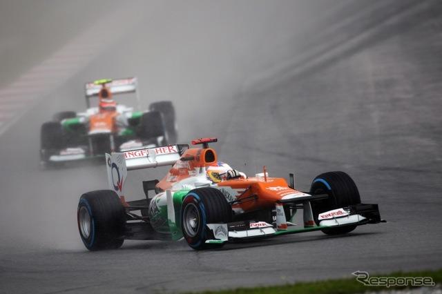 Force India ( F1 GP of Malaysia )
