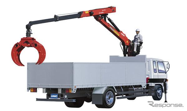 Camión marco exterior plegado fórmula grúa C105L76V, Furukawa UNIC