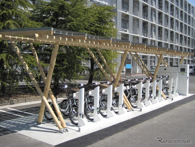 ヤマハ発動機 自転車共同利用実験に利用される PAS CITY-C