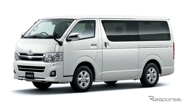 Toyota Hiace ( fotos são tipo padrão )