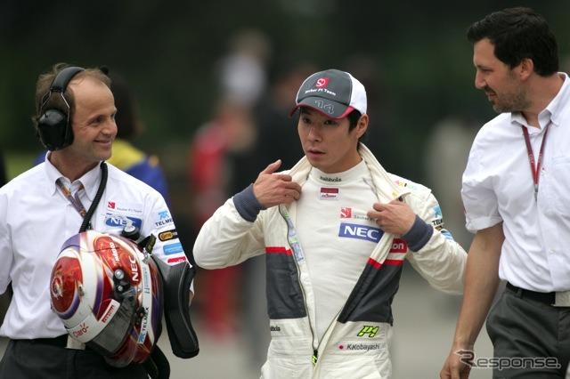 Kamui Kobayashi (2012 Chinese Grand Prix qualifying)