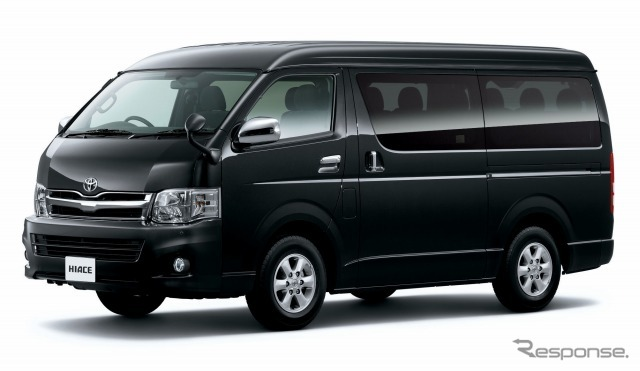 Toyota Hiace (vagão gasolina de 2700 GL 2WD)