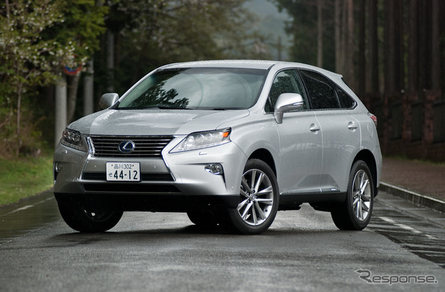 "Lexus RX450h ""version L - Air Suspension"""