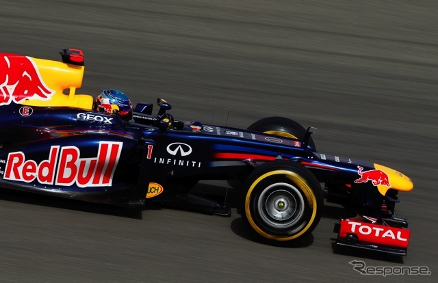 Vettel (Red Bull, F1 Bahrain Grand Prix qualifying)